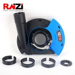 Raizi 5 дюймов/125 мм Угловая шлифовальная машина Пылезащитная крышка инструменты для сухого шлифования поверхности универсальная шлифовальна...