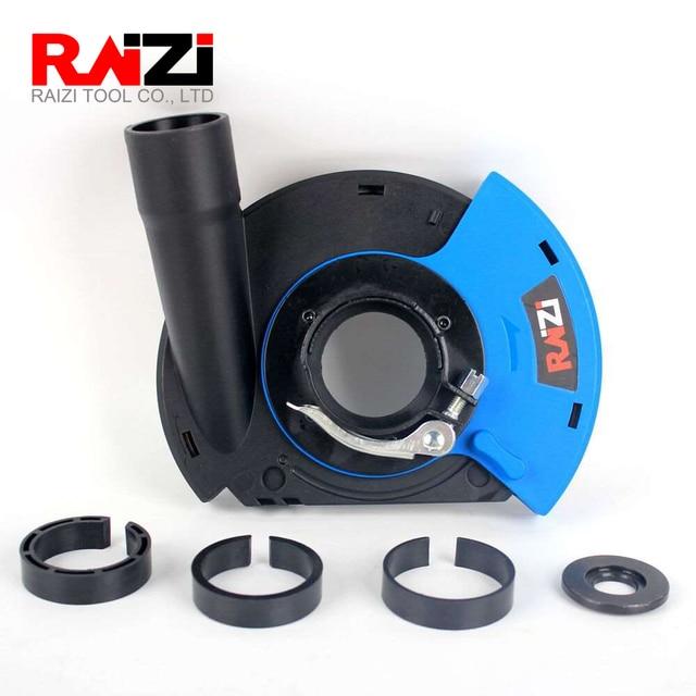 Raizi 5 インチ/125 ミリメートルアングルグラインダーダストシュラウドカバーツール乾燥表面研削ユニバーサルグラインダー集塵カバーキット