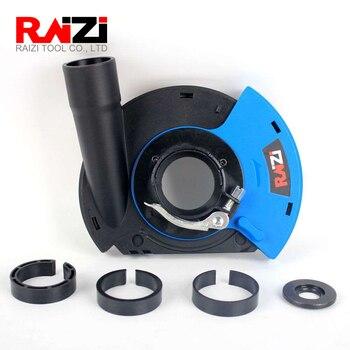 Raizi, amoladora angular de 5 pulgadas/125mm, herramientas de cubierta de polvo para amoladora Universal de superficie seca, Kit de cubierta de colección de polvo