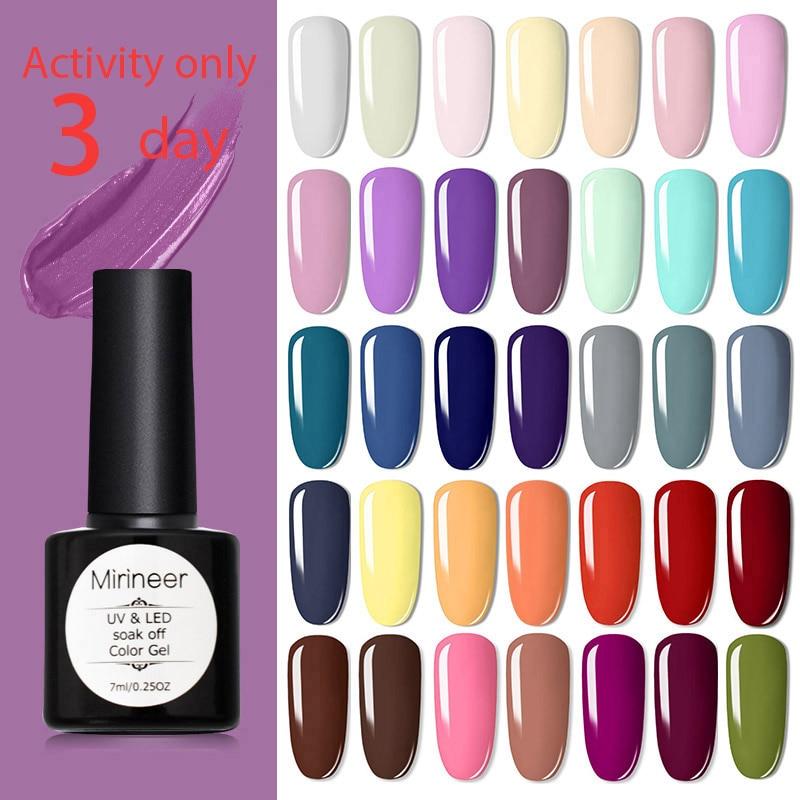 Mirineer Gel Nail Polish Gel For Build-up Polygel For Nails UV Gel Varnish All For Manicure Nails Gel Polish Nail Polish Acrygel