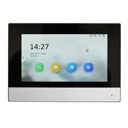 HIK Originale versione Multi-Lingua internazionale DS-KH6320-WTE1 Monitor Dell'interno, 802.3af POE, app Hik-collegare, wiFi, Video citofono
