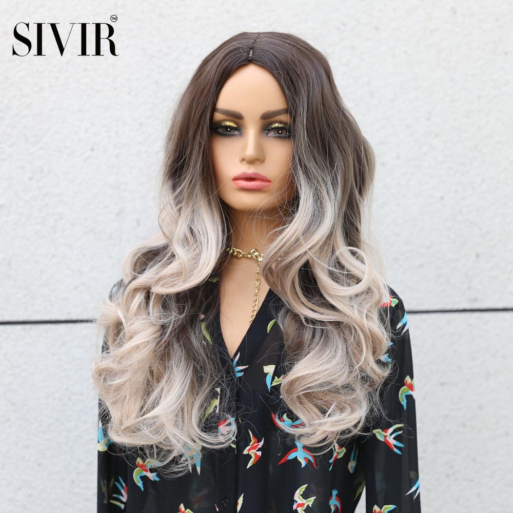 Парик sivir из синтетических волос парики для женщин с натуральными