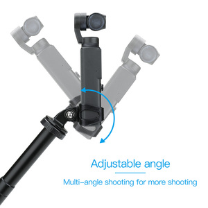 Image 2 - Tripod Extension Adapter For FIMI PALM Gimbal Camera Fixed Adapter Mount Backpack clip Holder Accessories stable holder