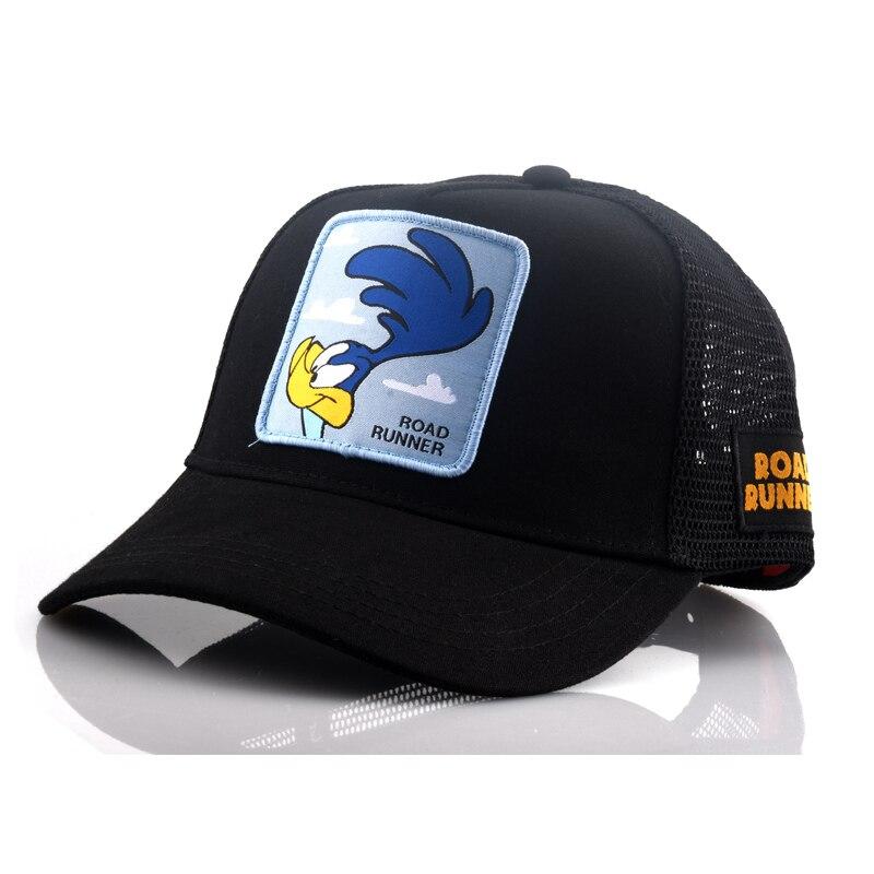 New Brand Anime Snapback Cap Cotton Baseball Cap Men Women Hip Hop Dad Mesh Hat Trucker Dropshipping