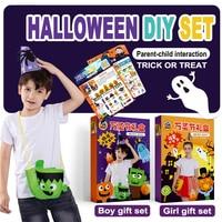kindergarten lots arts crafts diy toys Kids DIY set gift box crafts kids educational for children's toys girl/boy gift 16912