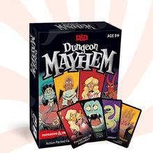120 шт./упак. английский карточная игра для подземелья Mayhemings драконов смешная игра для вечерние Семья 2-4 настольные игры хорошее качество
