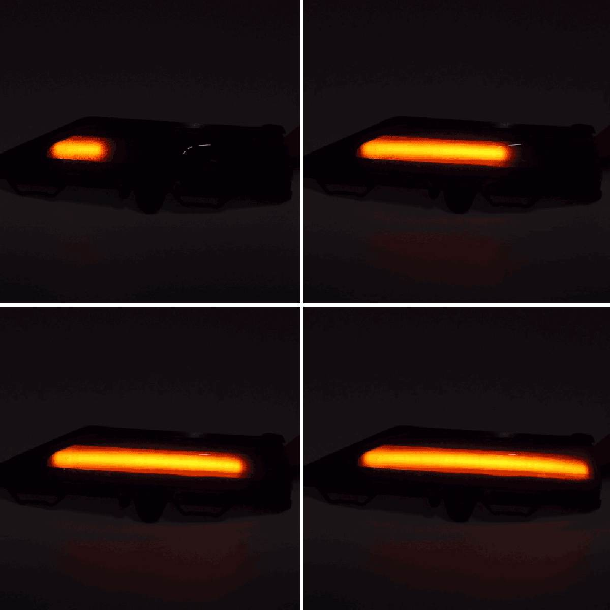 Ford Fiesta MK8 dynamic indicators