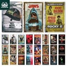 Putuo Decor Classic Movie Metal Sign Metal Poster Tin Sign Plaque Metal Vintage Wall Decor for Bar Pub Club Man Cave Metal Signs
