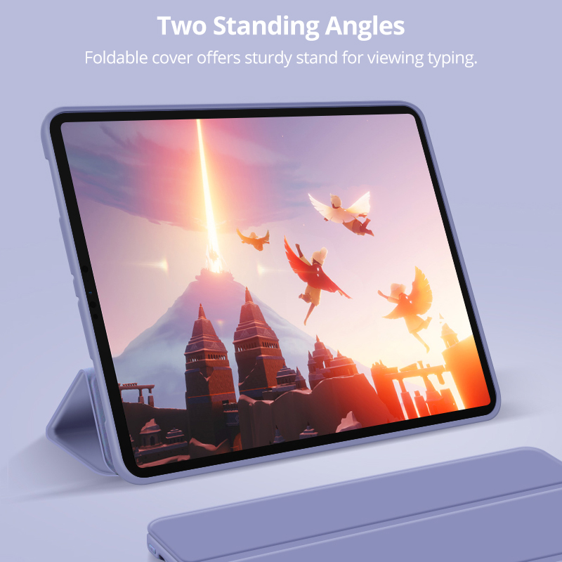 Case for iPad Pro 11 2020 Smart Case Ultra Slim Magnetic Folding Flip Stand Soft TPU Back Cover for iPad Pro 11 Case 2020 Funda