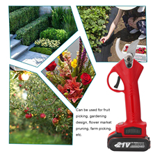 Electric Scissors Branches-Cutter Pruning Shear Garden-Tools Tree 21V Landscaping Efficient
