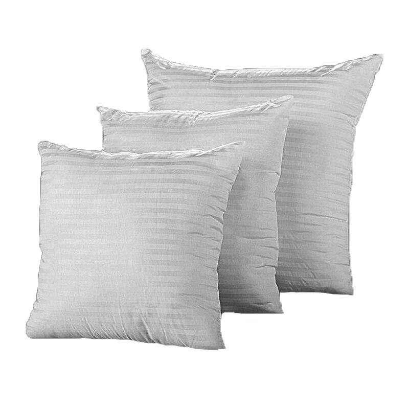 Square Cushion Pillow Insert Soft Cotton For Home Decor Sofa Pillow Seat Cushion Decorative Pillows Cushions 30cm 40cm 45cm 50cm