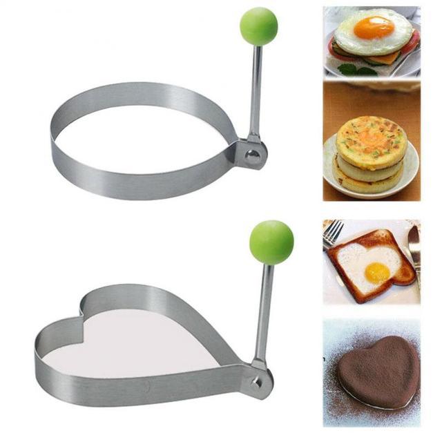 Stainless Steel Fried Egg Shaper Molds  5