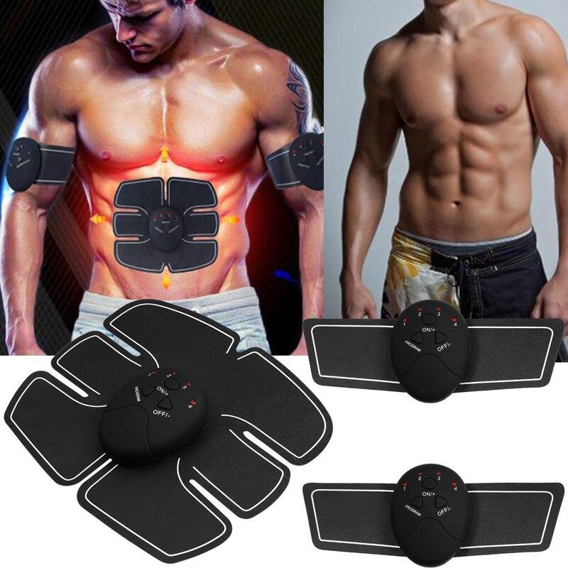 unisex wireless ems abdominal muscle toning belt stimulator