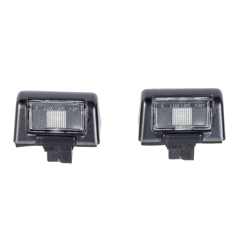 2Pcs License Plate Tag Light Car Rear License Plate Light For Ford Transit MK5 MK6 MK7 86VB-13550-AC