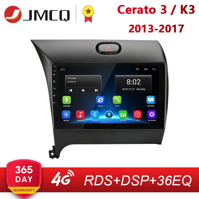 Android 8.1 2 Din Radio samochodowe multimedialny odtwarzacz wideo nawigacja GPS dla KIA K3 CERATO FORTE 2013-2017 3 YD Tuner radioodtwarzacz Stereo