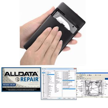 2019 Hot sale Alldata 10.53 auto repair software and All data car software with tech support for cars and trucks USB 3.0