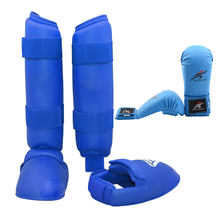 Тхэквондо Униформа каратэ спарринг снаряжение набор ноги рука