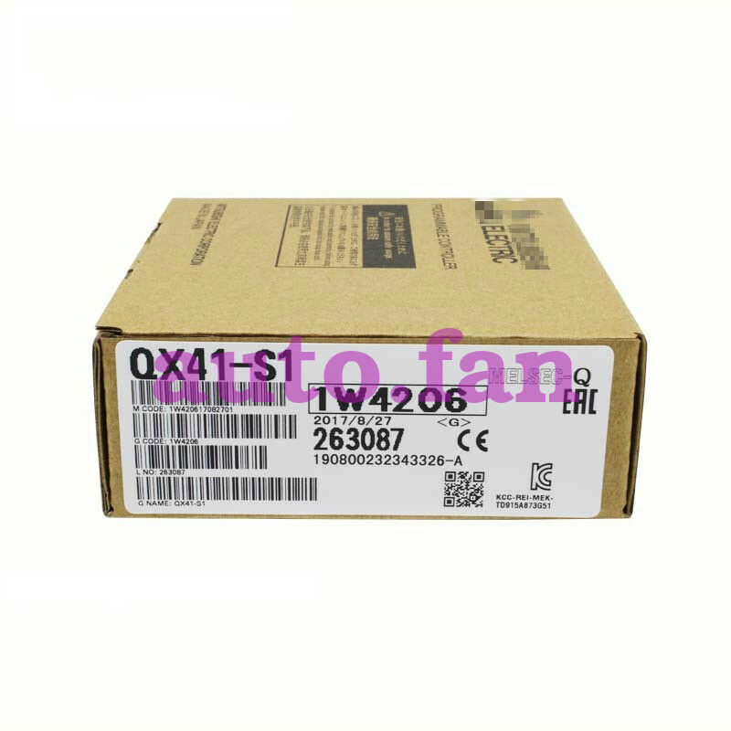For QX41-S1 Input Module