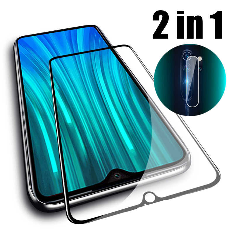 For Xiaomi Redmi note 8 Pro Camera Lens Glass note8 pro Screen Protector on Redmi 8 8a note 8T 6.53'' Protective Glas Full Cover