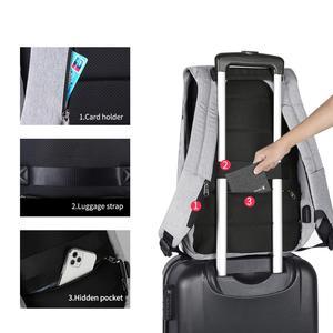 "Image 5 - Multiแฟชั่นหญิงFeminina Mochilaสีชมพู15.6 ""แล็ปท็อปป้องกันการโจรกรรมกระเป๋าเป้สะพายหลังผู้หญิงกระเป๋าเป้สะพายหลังโรงเรียนสำหรับสาวกระเป๋า"