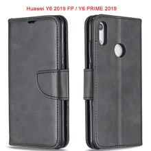 PU Leather+Soft Silicone Case For Huawei Y9 PRIME 2019 Y6 Y5 Y7 2018 Flip Wallet Book Bag on y5 y6 y7 prime Magnet Cases