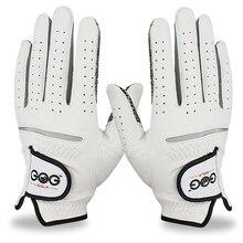 Перчатки для гольфа из натуральной кожи, мужские, для левой и правой руки, мягкие, дышащие, из чистой овчины, перчатки для гольфа, аксессуары для гольфа