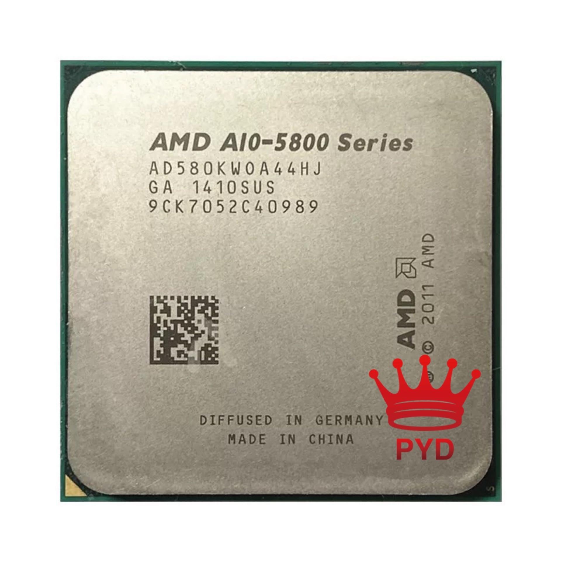 Четырехъядерный процессор AMD A10-Series A10 5800K A10 5800 AD580KWOA44HJ/AD580BWOA44HJ 0 разъем FM2
