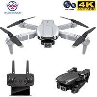 Share funbay nuovo HJ97 Pro Drone 4k HD doppia fotocamera posizionamento visivo 1080P WiFi Fpv Drone altezza conservazione Rc Quadcopter