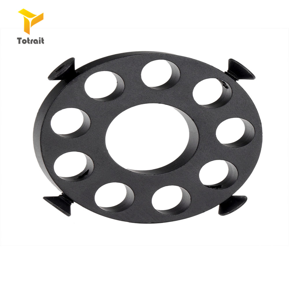 Toyrait Airsoft Tactical ar 15 M4 accessories 0.75 .223 Front End Cap Ring Barrel Nut for hunting shooting image