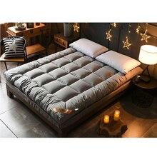3 см хлопок матрас двойной матрас татами матрас мульти-размер Противоскользящий матрас студенческий кровать коврик