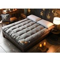3CM 100% Baumwolle Matratze Doppel Bett Matte Tatami Matratze Multi größe Anti skid Matratze Student Schlafsaal Bett matte-in Matratzen aus Möbel bei