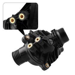 Nowa pompa wody W/termostat i śruby 11517586925 dla samochodów 128i 325i 328i 528i 530i X3 montaż termostatu w Pompy wody od Samochody i motocykle na