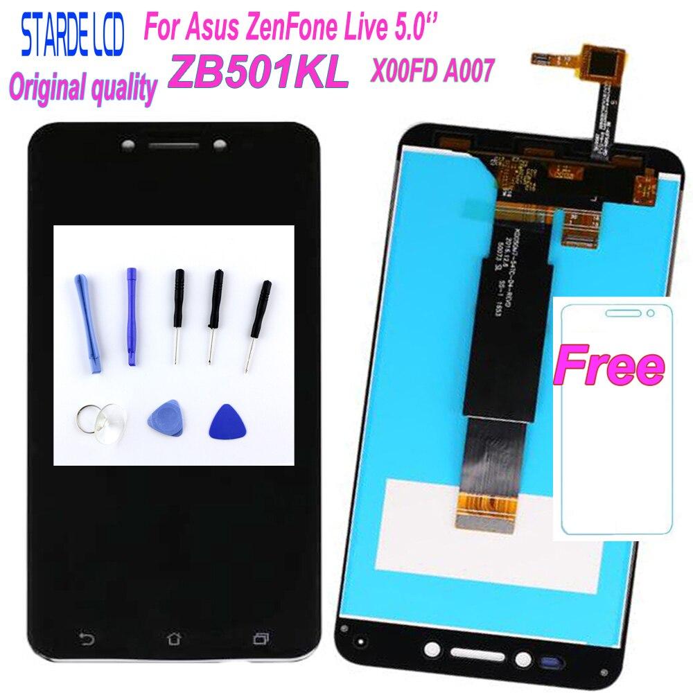 STARDE 5''LCD pour Asus ZenFone Live ZB501KL X00FD A007 écran tactile numériseur assemblée + outils