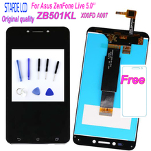 STARDE 5''LCD for Asus ZenFone Live ZB501KL X00FD A007 LCD Display Touch Screen Digitizer Assembly +Tools oem a007