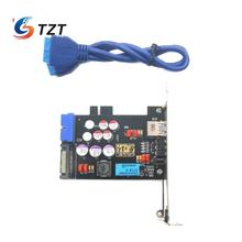 TZT Elfidelity AXF 100 USB כוח מסנן USB מחשב פנימי HiFi עבור אודיו שדרוג DIY