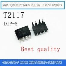 1 pces 5 pces t2117 t2117 2117 dip 8 em estoque!