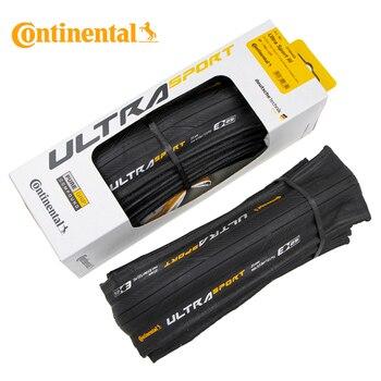 1 par continental ultra sport iii 700x2 3/25 preto dobrável puregrip 3 bicicleta de estrada pneu dobrável