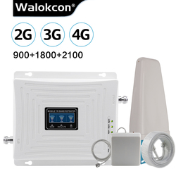 Cellulaire Versterker Gsm 2G 3G 4G Repeater 900 1800 2100 Lte 4G Internet Versterker Gsm Mobiele signaal Repeater Cellulaire Booster