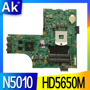 09909-1 For DELL inspiron N5010 CN-0VX53T 0VX53T VX53T 09909-1 48.4HH01.011 HM57 without GPU original Test motherboard