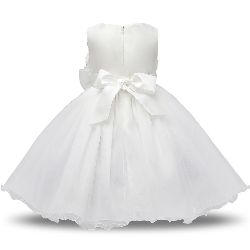 H677b9c680ea149188c7e89425d38cbfd0 Flower Girl Dress Formal 3-8 Years Floral Baby Girls Dresses Vestidos 9 Colors Wedding Party Children Clothes Birthday Clothing