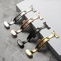 Doppel Push Button Falten Uhr Schnalle Edelstahl Solide Schmetterling Deployment Verschluss Armband 12mm 14mm 16mm 18mm 20mm 22mm