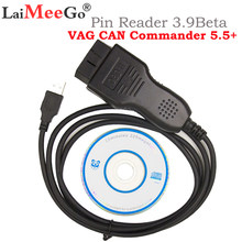 Strumento di Diagnostica Vag Can Commander 5.5 + Cavo Diagnostico Spille Reader 3.9Beta per Le Auto per V-W/Se- a/Sk-Oda per Audi Scanner Vag(China)