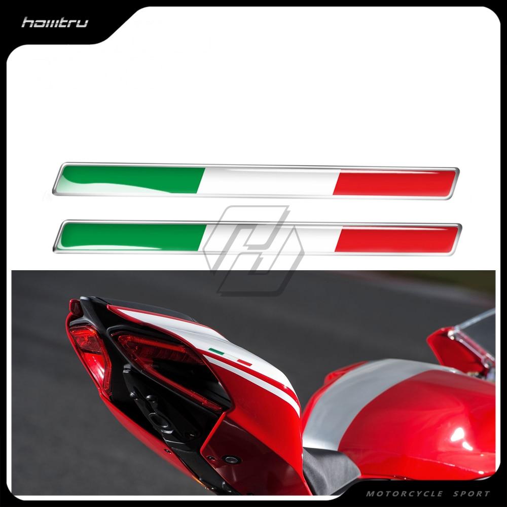 3D Italy Sticker  Case for Aprilia RV4 RSV4 Ducati 696 795 796 821  Monster  1199 1299 panigale sticker
