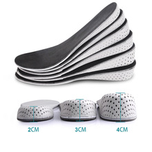 Women Men Comfortable Height Increase Insole Unisex Insert Memory Foam Insoles Shoes Full Hlaf Pad Cushion