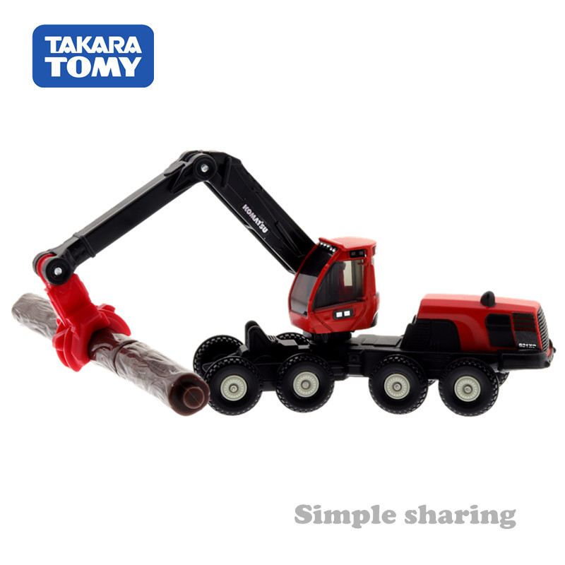 Takara Tomy Tomica #136 KOMATSU HARVESTER 931XC Scale 1//96 Diecast Vehicle Car