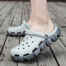 Men Shoes Light-Slippers Clogs Flip-Flops Water-Sandals Breathable Casual Summer New