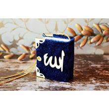 Koran I Holy Mini Length Velvet Navy Blue
