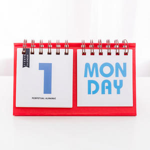 1pc New  Desk Calendar Paper 31 DAYS with week