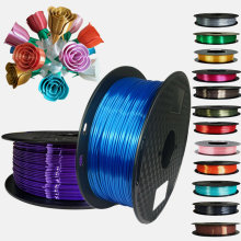 Silk PLA Filament 1.75mm 1kg/500G/250G 3D Printer Filament Silky Shine 3D Pen Printing Materials Shiny Metallic PLA Filament
