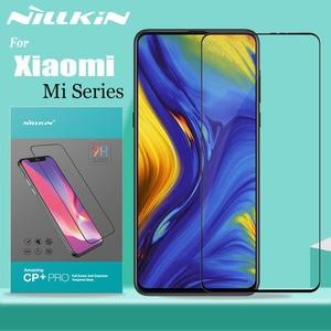 Image 1 - シャオ mi mi 9 SE 9T プロ mi x3 A3 ガラススクリーンプロテクター Nillkin フルカバー強化ガラスシャオ mi mi 9 mi 9T mi 8 Lite mi × 3